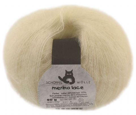 Schoppel-Wolle MERINO LACE 980 natural